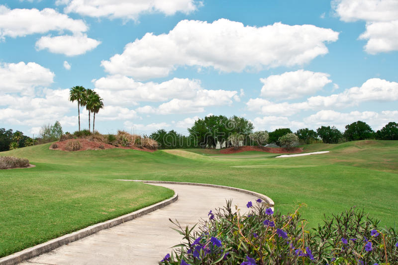Download Golf Course in Tropics stock image. Image of recreational - 24373863