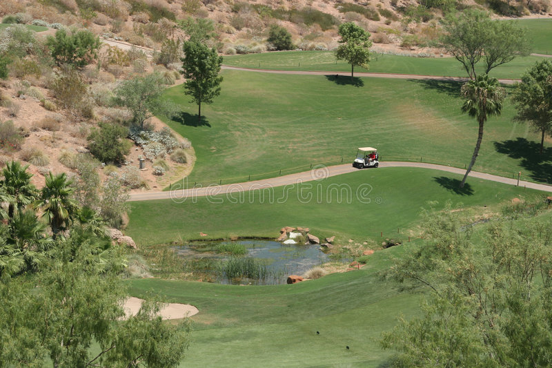 Download Golf course in Vegas stock photo. Image of open, park - 1220336