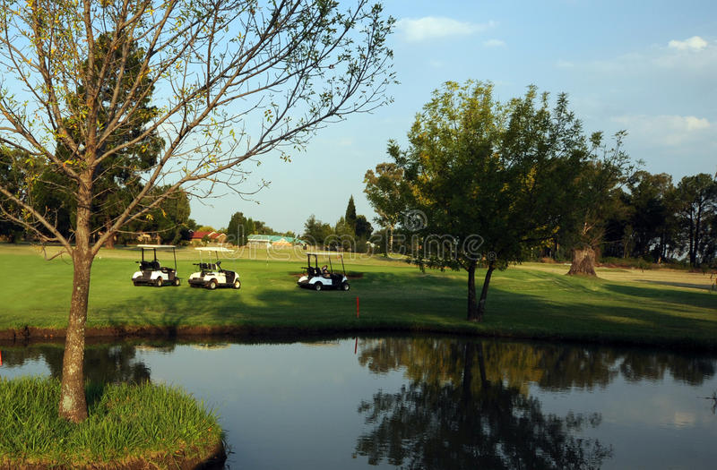 Download Golf Course Water Hazard Royalty Free Stock Image - Image: 25223396