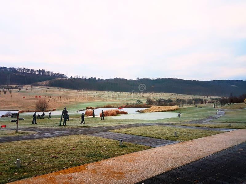 Golf court royalty free stock photo