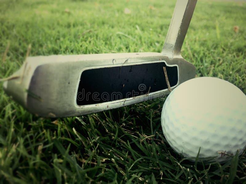 Golf d'annata immagini stock libere da diritti