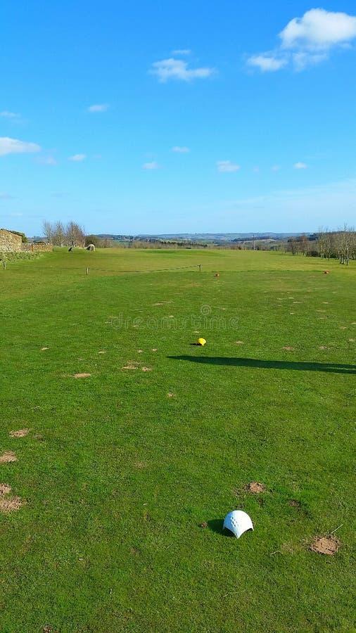Golf dans le Cotswolds photos libres de droits