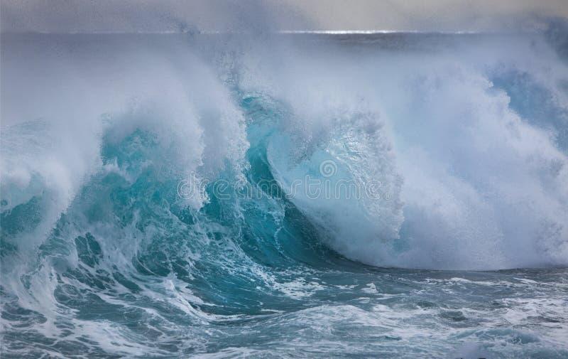 Golf in de Atlantische Oceaan royalty-vrije stock foto