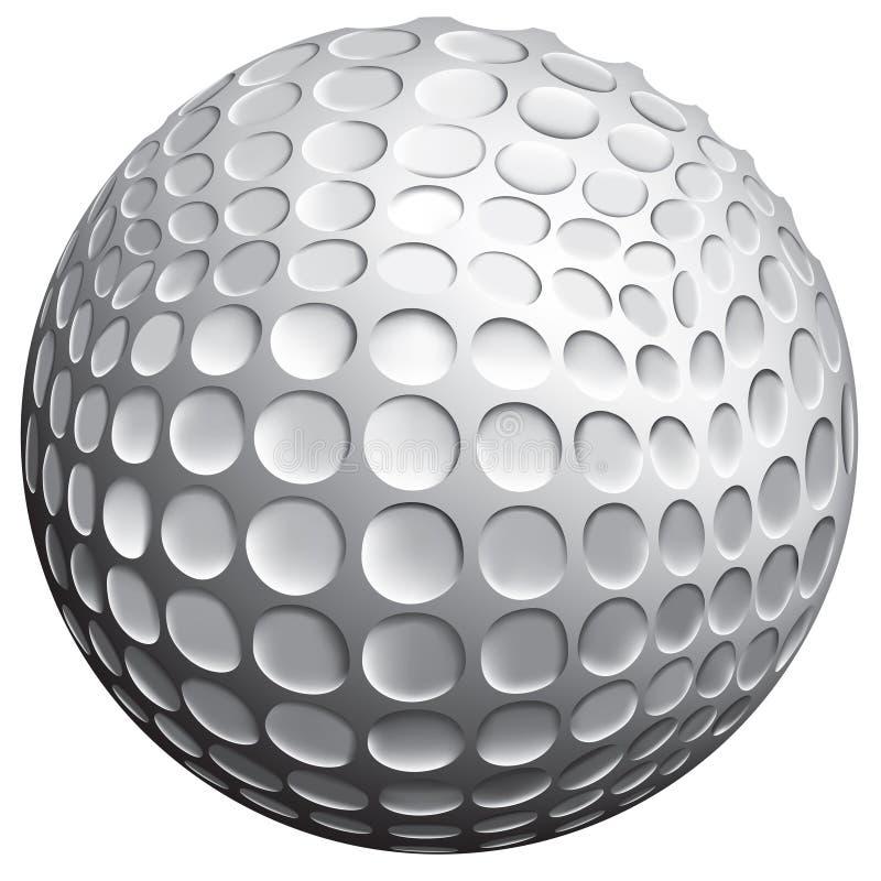 golf de bille illustration stock