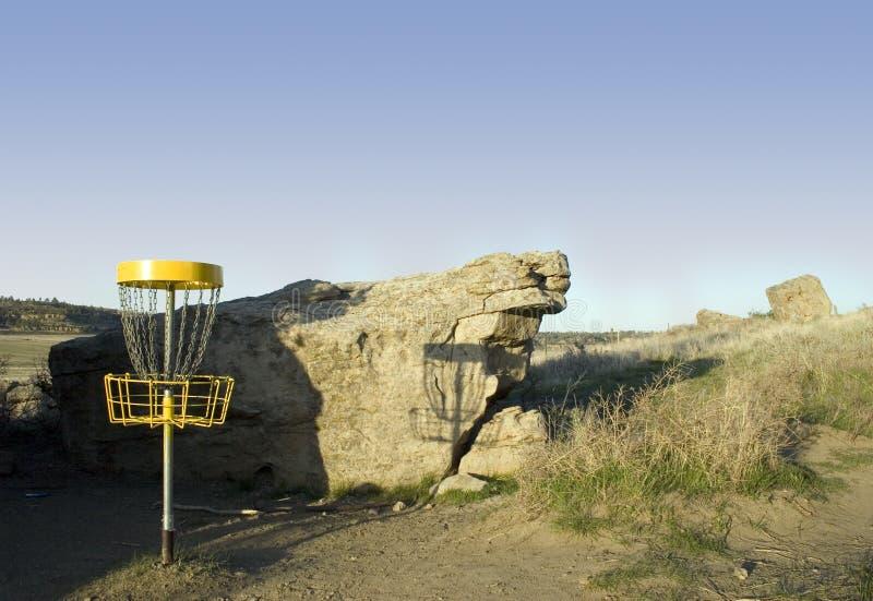 Download Golf de frisbee - FOLF photo stock. Image du golf, nature - 734784