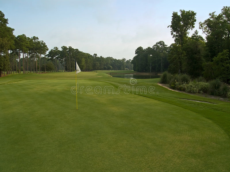 Golf de Myrtle Beach images stock