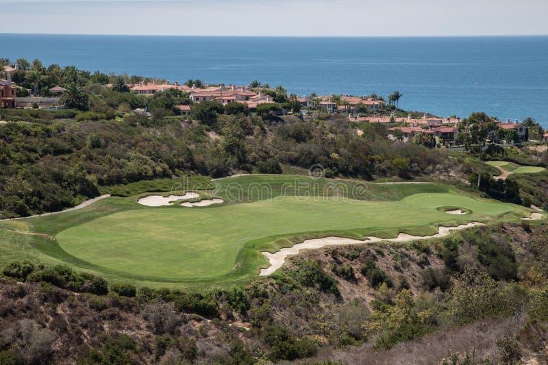 Golf de villas de côte de Newport de Marriott photo libre de droits