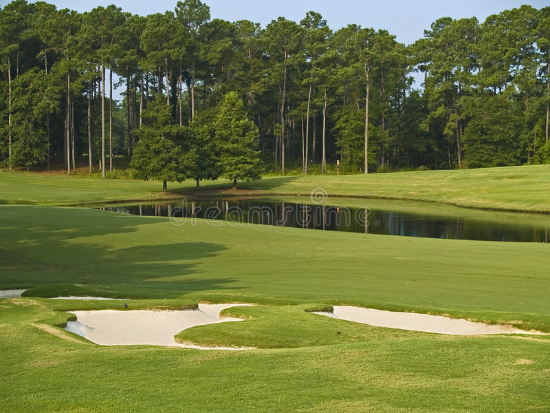Golf del Myrtle Beach immagini stock libere da diritti