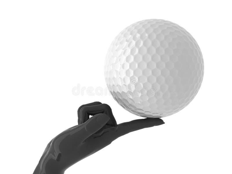 Golf dla ciebie. fotografia royalty free