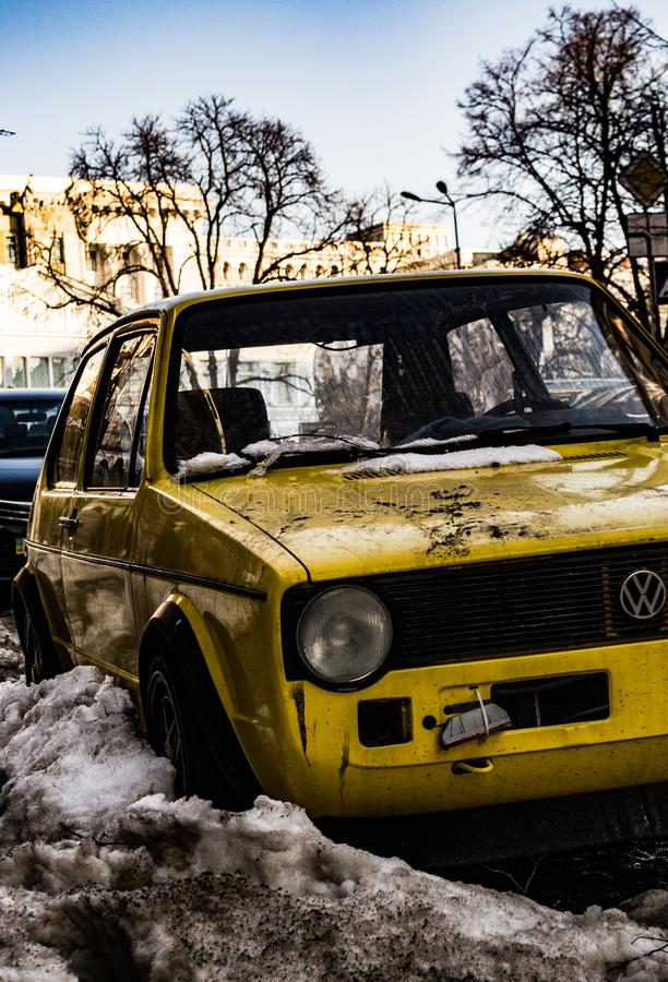 Golf 1 stock images