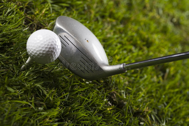 Download Golf, driver and ball stock image. Image of grass, course - 7319423