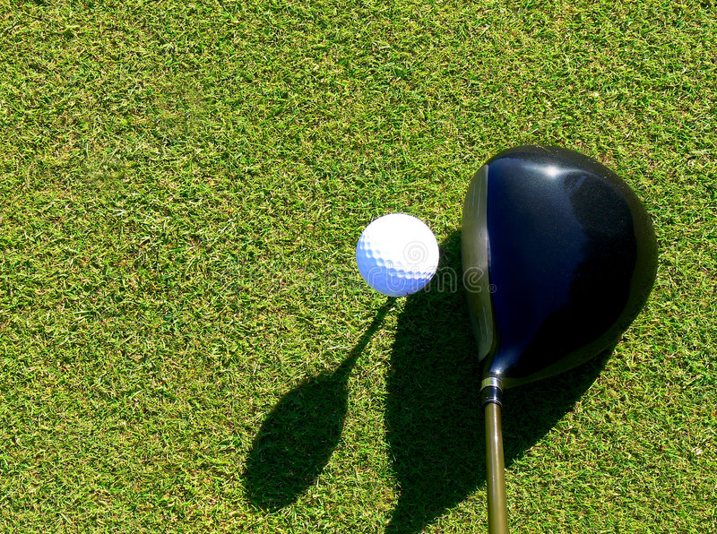 Download Golf - Driver and Ball stock image. Image of nature, links - 8415229