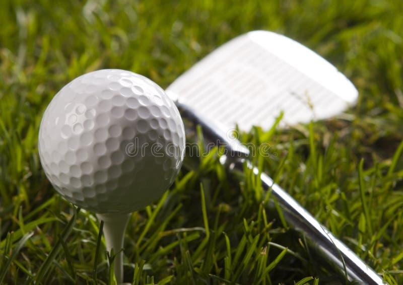 Download Golf, driver e sfera immagine stock. Immagine di bogey - 7317117