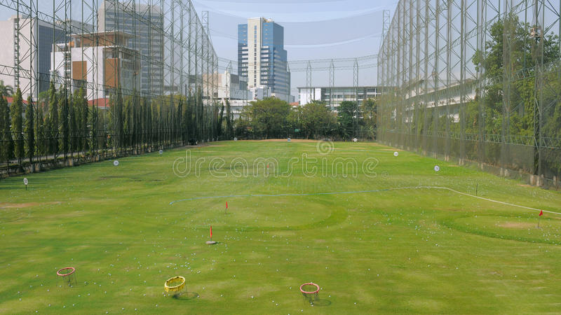 Golf Driving Range royalty free stock image