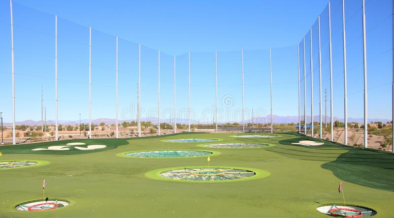 Golf Driving Range royalty free stock photos
