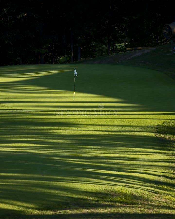 Golf el agujero 8V fotos de archivo