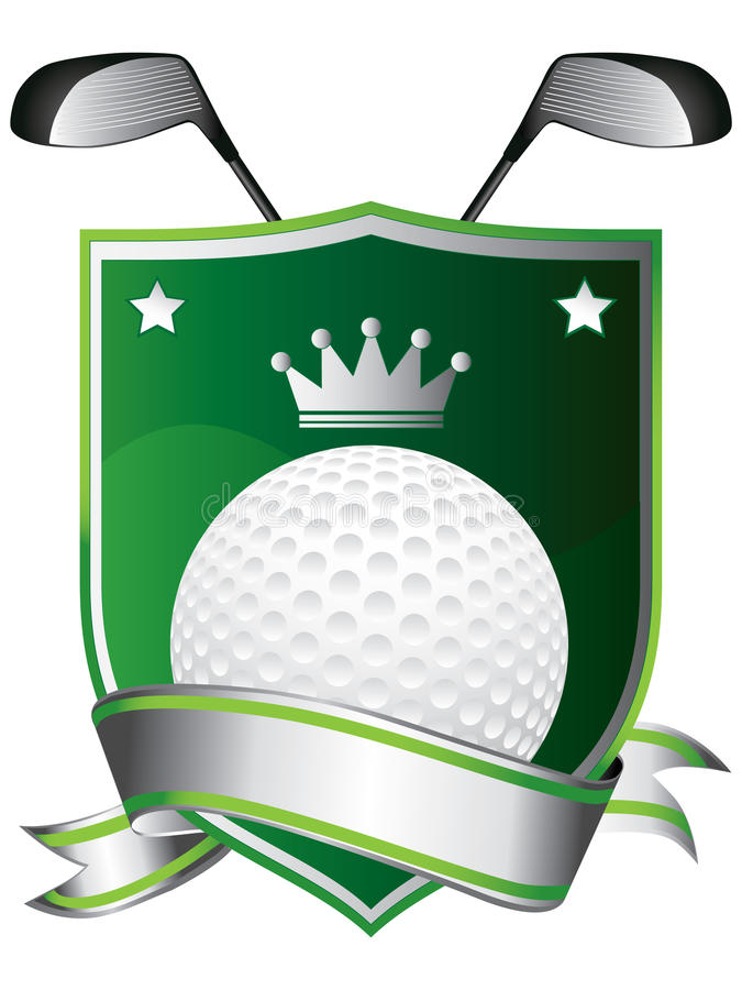 Download Golf Emblem Stock Photo - Image: 16607570