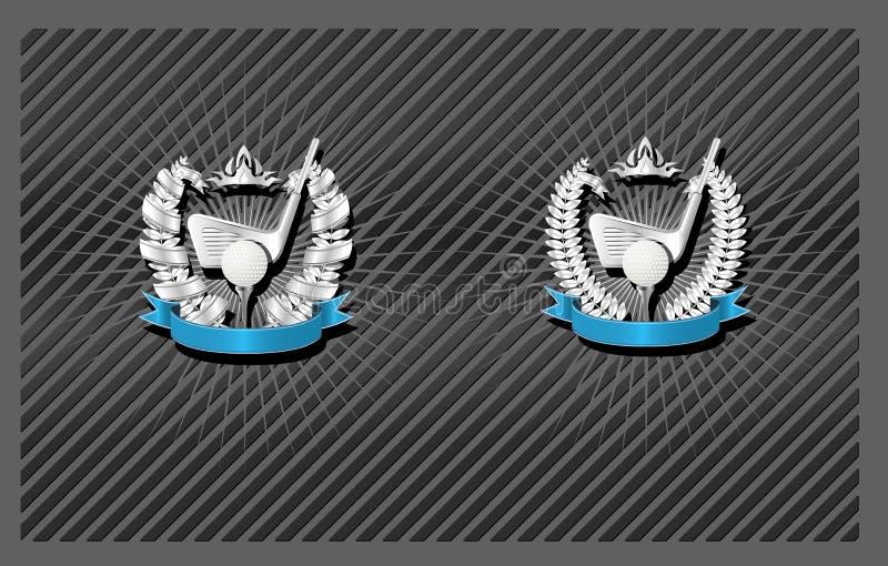 Download Golf emblem stock vector. Image of games, label, logotype - 4008868