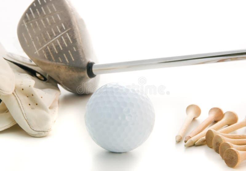 golf enkelt royaltyfria bilder