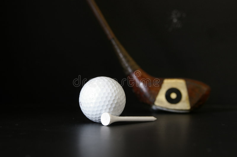 Golf equipment royalty free stock photography
