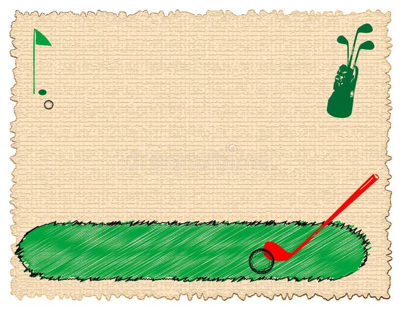 Download Golf equipment stock illustration. Illustration of hobby - 5043805