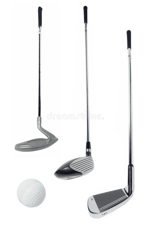 Golf equipment stock images