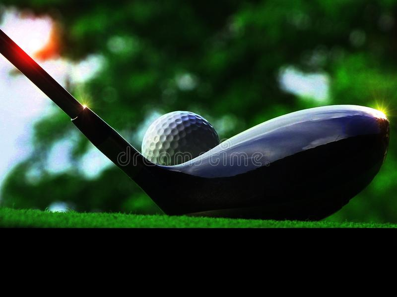 Let`s play golf. royalty free stock photos