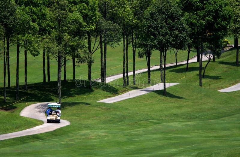 golf för 3 kurs arkivfoto