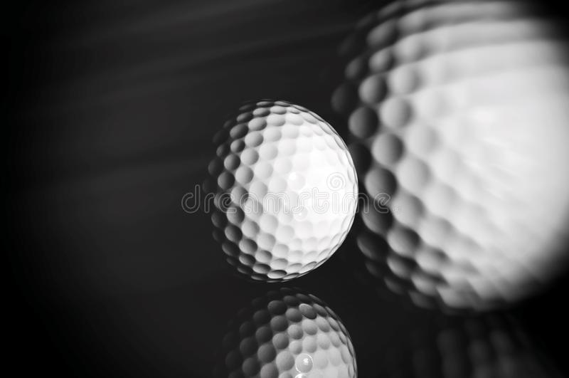 golf f?r bakgrundsbollblack royaltyfria foton