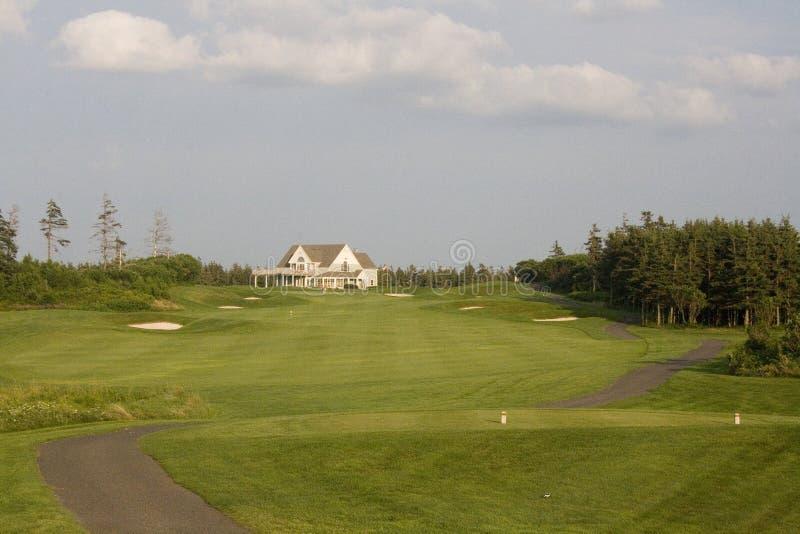 Golf-Fahrrinne lizenzfreie stockfotos