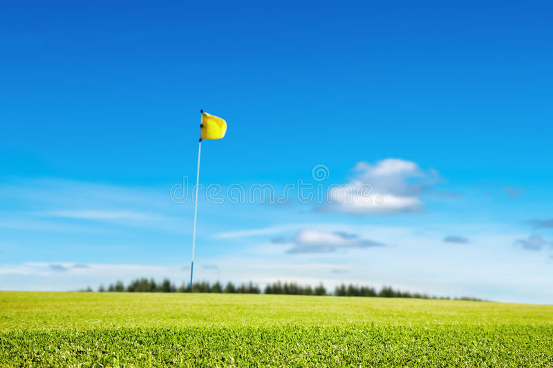 Download Golf field stock image. Image of trap, beautiful, summer - 14626451