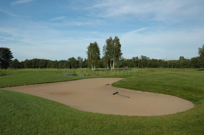 Download Golf field stock photo. Image of hard, difficult, leisure - 21695850