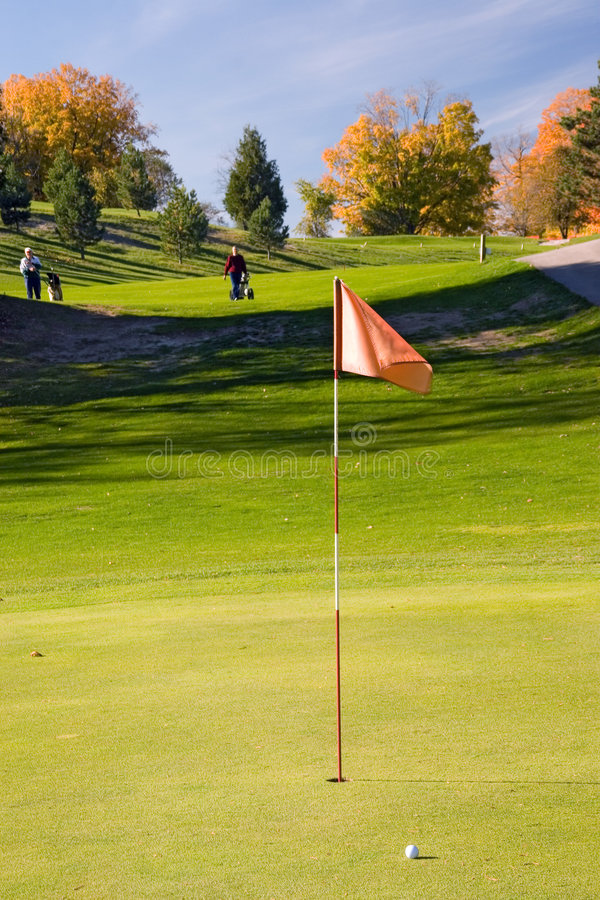 Download Golf flag 04 stock photo. Image of partner, play, course - 316628