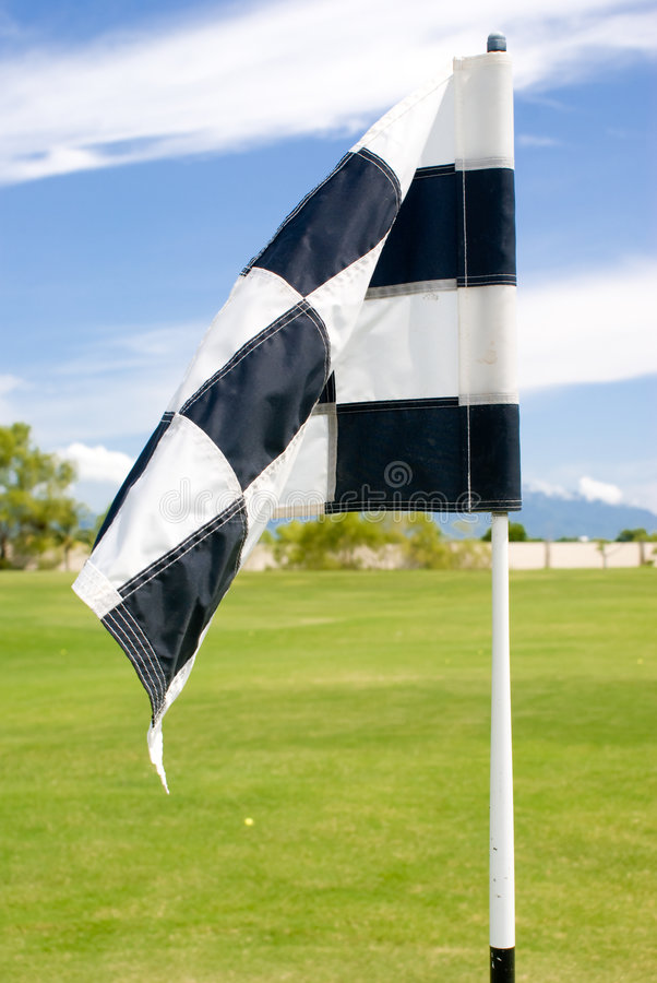 Download Golf Flag stock image. Image of leisure, golfcourse, hole - 6347661
