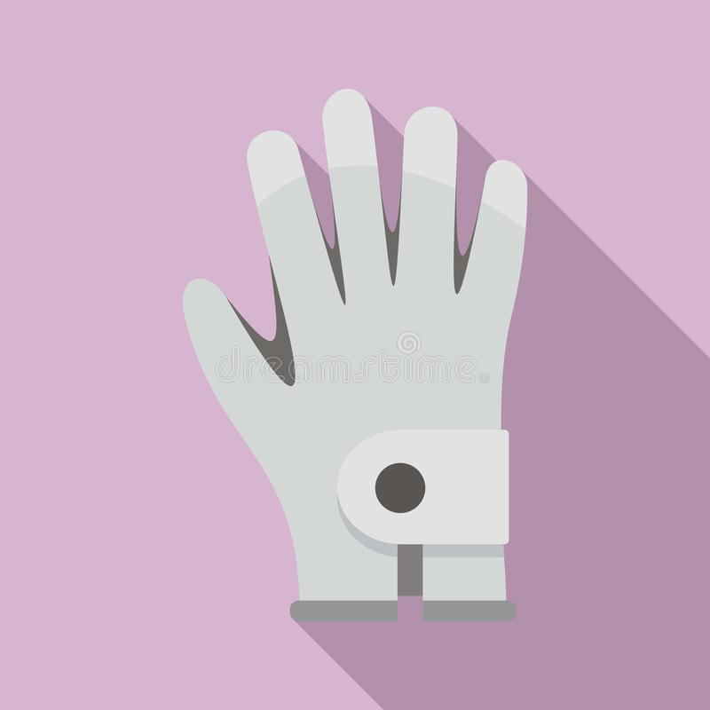 Golf glove icon, flat style. Golf glove icon. Flat illustration of golf glove vector icon for web design vector illustration