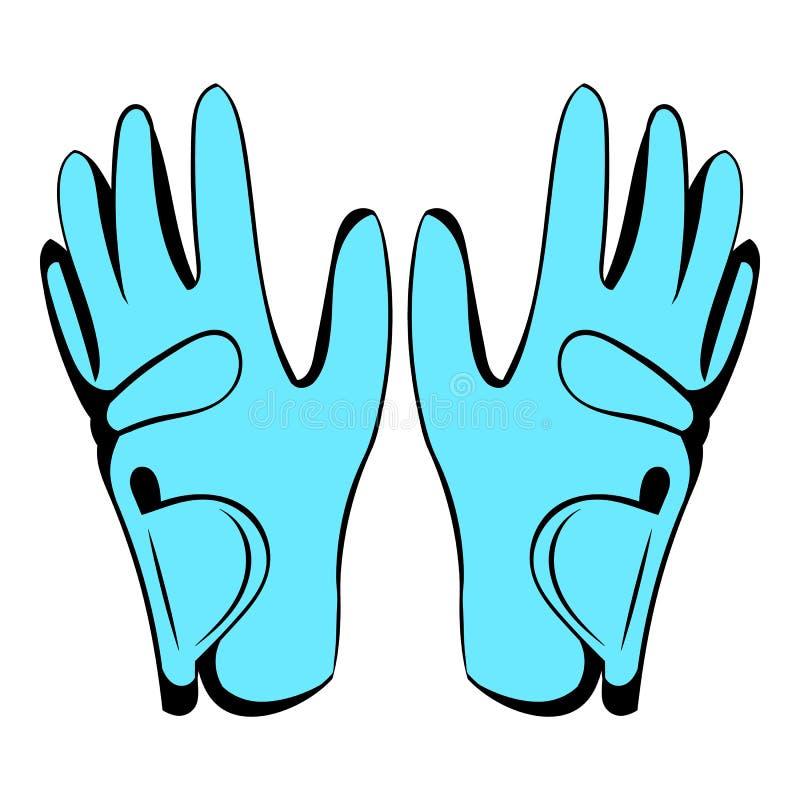 Golf glove icon, icon cartoon. Golf glove icon in icon in cartoon style isolated vector illustration vector illustration