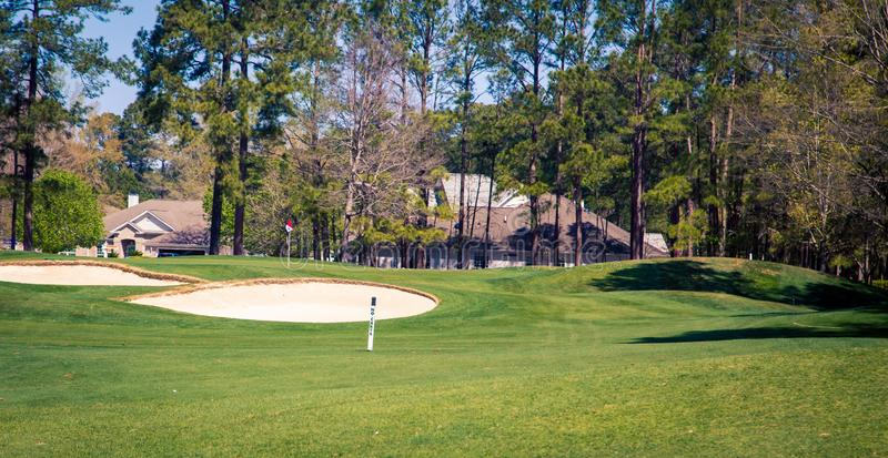 Golf grünes Myrtle Beach lizenzfreies stockfoto