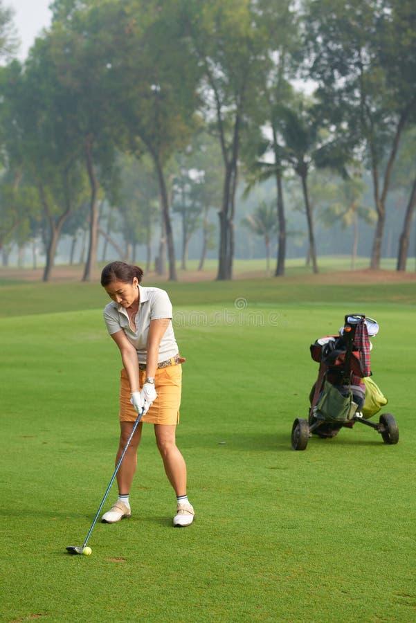 golf grać zdjęcie royalty free