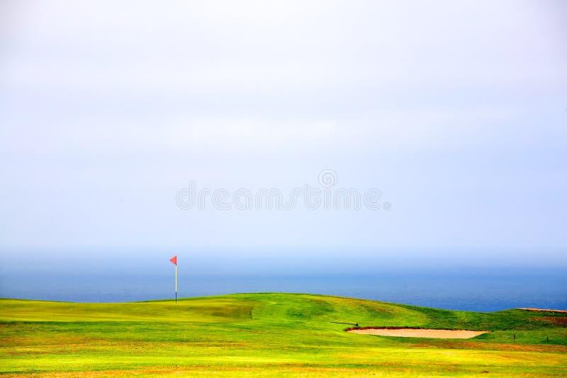 Golf green royalty free stock image