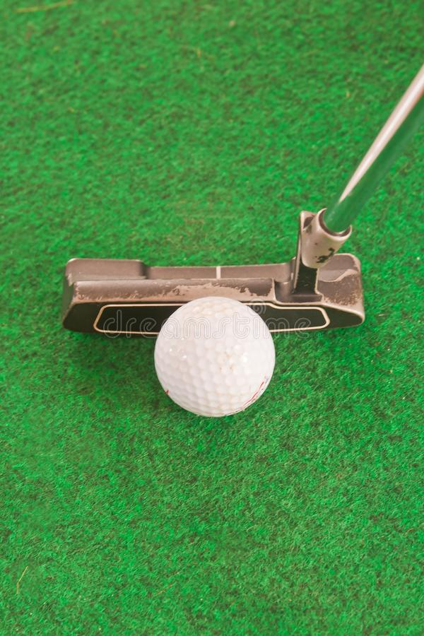 golf green royaltyfri bild