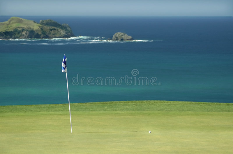 Golf - Green royalty free stock photo