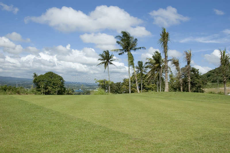 Download Golf Greens stock photo. Image of blue, philippines, mountain - 987402