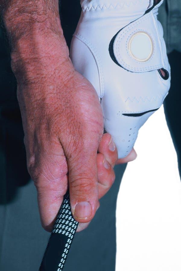 Download Golf-Griff stockfoto. Bild von handschuh, eisen, sport, hände - 42042