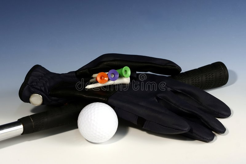 Golf-Handschuh 1 stockbilder