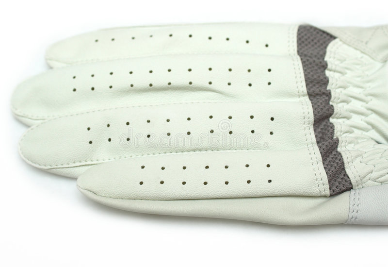 Golf-Handschuh lizenzfreie stockfotos