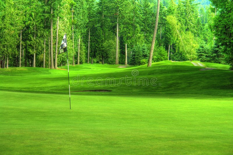 Golf HDR stock foto