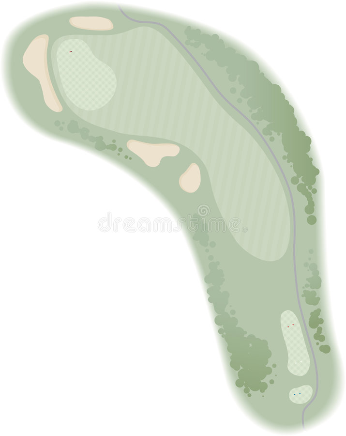 Free Golf Hole Royalty Free Stock Photos - 1715268