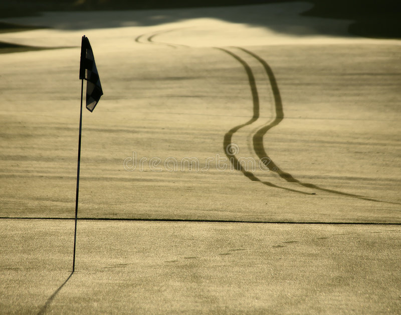 Download Golf hole stock image. Image of reflection, flag, dawn - 326153