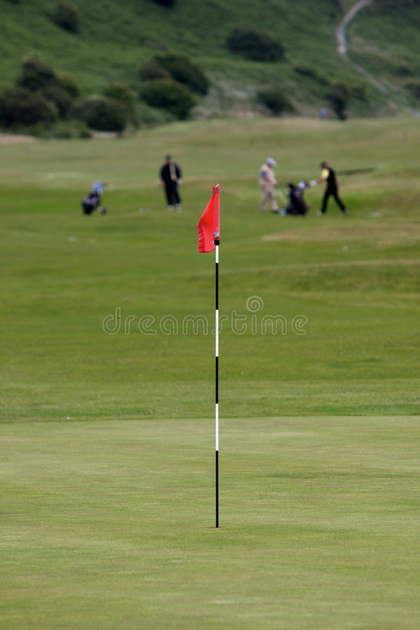 Free Golf Hole Royalty Free Stock Photos - 5598968