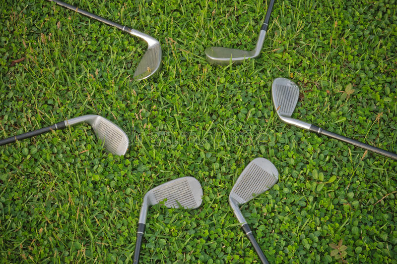 Download Golf Irons stock photo. Image of grass, sports, golf - 25254162